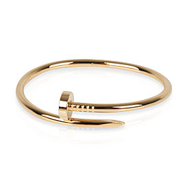 Cartier Juste en Clou Bracelet in 18K Yellow Gold Size 17