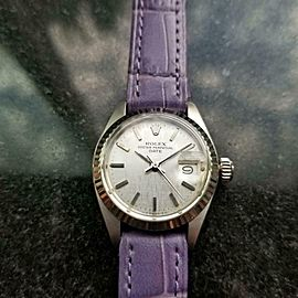 Ladies Rolex 6917 Oyster Date automatic 18k & ss, c.1970s Swiss Luxury MS167LAV