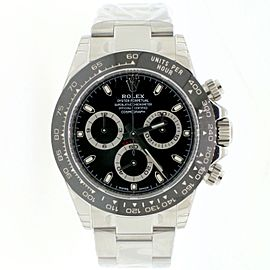 Rolex Cosmograph Daytona Black Ceramic Bezel 40MM Steel Watch 116500LN UNWORN