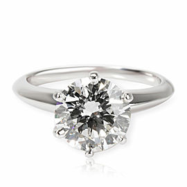 Tiffany & Co. Diamond Engagement Ring in Platinum I VS1 1.75 CTW