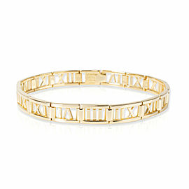 Tiffany & Co. Atlas Pierced Bracelet in 18K Yellow Gold