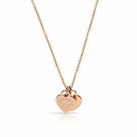 Tiffany & Co. Return to Tiffany Heart Tag Necklace in 18K Rose Gold