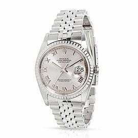 Rolex Datejust 16220 Men's Watch in Stainless Steel