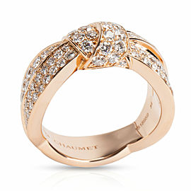 Chaumet Liens Seduction Diamond Ring in 18K Pink Gold 3.50 CTW