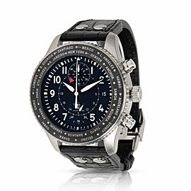 IWC Timezoner IW395001 Men's Watch in Stainless Steel