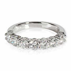 Tiffany & Co. Embrace Diamond Wedding Band in Platinum 0.91 CTW