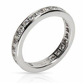 Tiffany & Co. Channel Diamond Wedding Band in Platinum 0.33 CTW