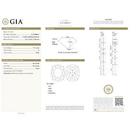Gabriel & Co. Amavida Halo Diamond Engagement Ring in Platinum E VVS2 1.79CTW