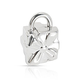 Tiffany & Co. Gift Box Lock Charm in Sterling Silver