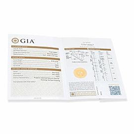 James Allen Diamond Engagement Ring in 14K White Gold GIA J VVS2 0.83 CTW