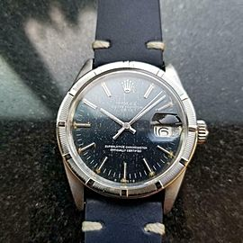 Men's Rolex Oyster Perpetual Date ref.1501 Automatic, c.1971 Vintage MS133BLU