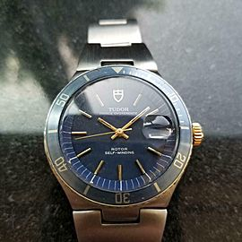 Men's Tudor Prince Oysterdate Automatic w/Date, c.1970s Swiss Vintage MS201