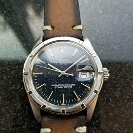 Men's Rolex ref.1501 Oyster Perpetual Date Automatic, c.1971 Vintage MS133BRN