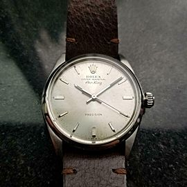 Men's Rolex Oyster Perpetual Air-King ref.5500 Automatic, c.1969 Vintage LV679