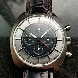 Men's Tissot 40506 Seastar T12 Manual Chronograph, c.1970s Swiss Vintage MX89