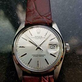 Men's Rolex Oyster Perpetual Date Ref.1501 35mm Automatic, c.1970s LV910BUR