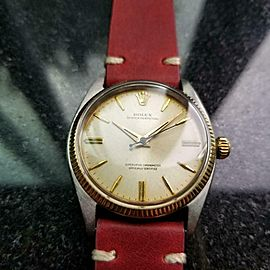 Men's Rolex Oyster ref.6567 34mm 14k Gold & ss Automatic, c.1950s LV907RED