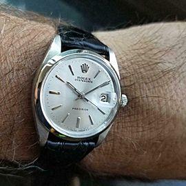 ROLEX Men's Oysterdate Precision ref.6694 Hand-Wound, 1960s Swiss Vintage MA146