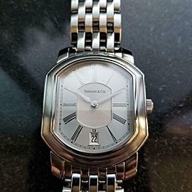 Men's Tiffany & Co. Resonator 32mm Swiss Quartz w/Date, c.2000s LV257