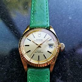 Ladies Tudor Princess Oysterdate Ref.9241 25mm Automatic, c.1970s LV614GRN