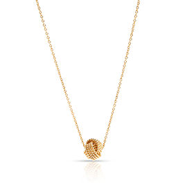 Tiffany & Co. Somerset Knot Necklace in 18K Yellow Gold