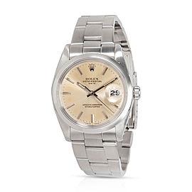 Rolex Date 1500 Men's Watch in Stainless Steel