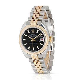 Rolex Datejust 179163 Women's Watch in 18kt Stainless Steel/Yellow Gold