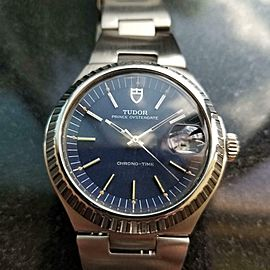 Men's Tudor Prince Oysterdate Chrono-Time 9121/0 37mm Automatic, c.1970s LV646