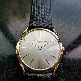 Men's Vacheron Constantin Ref.4961 Geneve 18K Gold Hand-Wind, c.1970s LV849