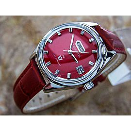 Citizen Seven Star Manual Day Date 1960s 37mm Japan Dress Watch for Men L147