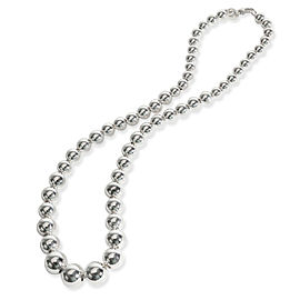 Tiffany & Co. Hardware Ball Necklace in Sterling Silver