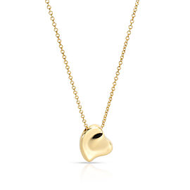 Tiffany & Co. Elsa Peretti Full Heart Pendant in 18KT Yellow Gold
