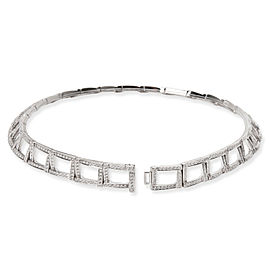 Tiffany & Co. Diamond Choker Necklace in Platinum 6.13 CTW
