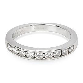 Tiffany & Co. 9 Stone Diamond Wedding Band in Platinum 0.45 CTW