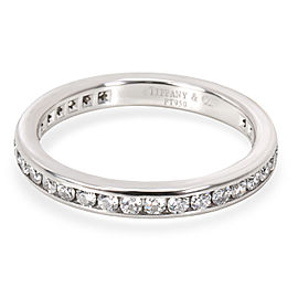 Tiffany & Co. Channel Diamond Wedding Band in Platinum (0.40 CTW)