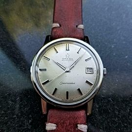 Men's Omega Seamaster Ref.166.003 35mm Automatic, c.1960s Swiss LV828RED
