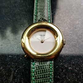 Ladies Chaumet Paris Ref.750 18K Solid Gold 29mm Quartz, c.2000s Swiss DX43