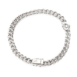 Chopard Happy Diamonds Curb Chain Heart Bracelet in 0.2 CTW