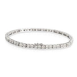 Miracle Set Diamond Tennis Bracelet in 10KT White Gold 1.71 CTW
