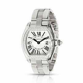 Cartier Roadster WE5002X2 Unisex Watch in 18kt White Gold