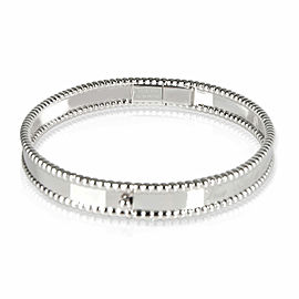 Van Cleef & Arpels Perlee Bracelet in 18K White Gold