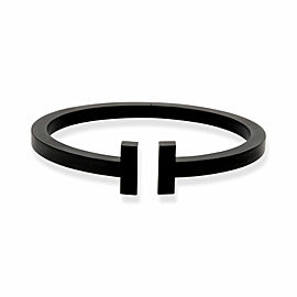 Tiffany & Co. Tiffany T Bracelet in Black Steel