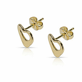 Tiffany & Co. Elsa Peretti Earrings in 18K Yellow Gold