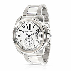 Cartier Calibre de Cartier W7100015 Men's Watch in Stainless Steel