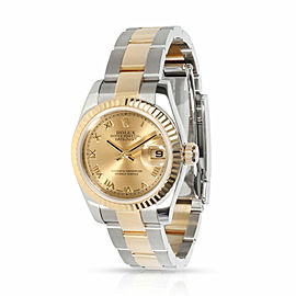Rolex Datejust 179173 Women's Watch in 18kt Stainless Steel/Yellow Gold