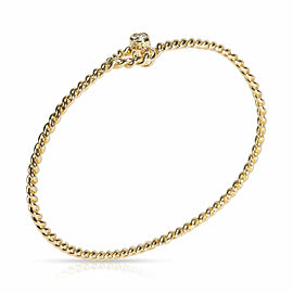 Tiffany & Co. Rope Twist Diamond Bangle in 18K Yellow Gold 0.10 CTW