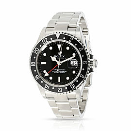 Rolex GMT II 16710 Men's Watch in Stainless Steel