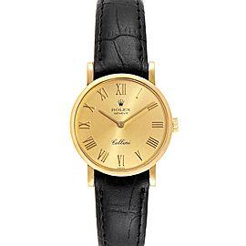 Rolex Cellini Classic Yellow Gold Roman Numerals Ladies Watch 5109
