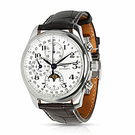 Longines Master Collection Moonphase L2.773.4.78.3 Men's Watch in Stainless Ste