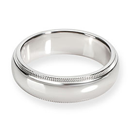 Tiffany & Co. Classics Men's Wedding Band in Platinum